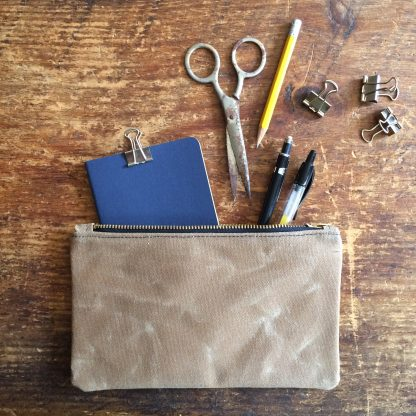 Jenneng Waxed Canvas Pouches