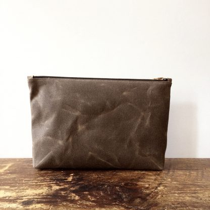 Jenneng Large Utility Pouch Brown