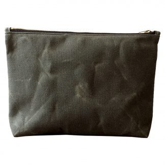 Jenneng Large Utility Pouch Dark Olive