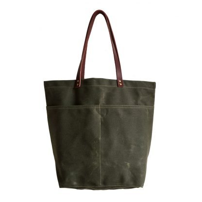 Jenneng Large Everyday Tote Dark Olive