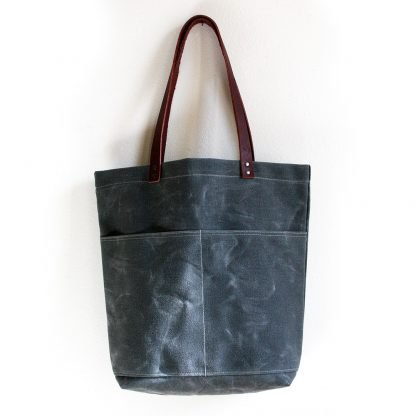 Jenneng Everyday Waxed Canvas Tote Grey